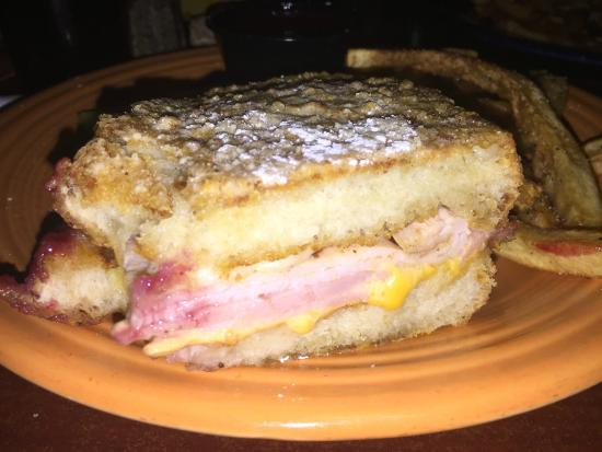 Melt Bar and Grilled: Monte Cristo (Cross Section w/ Flash)
