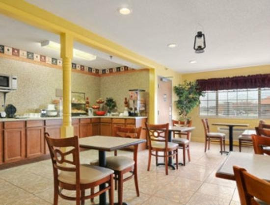 Days Inn Lake Village: Breakfast Room