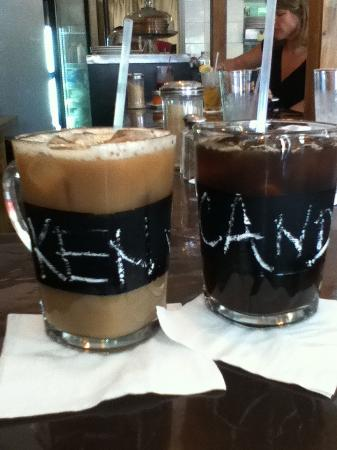 Bread and Chocolate: Ice coffee in the grand Caymen