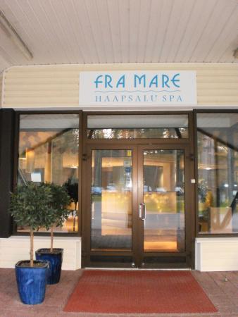 Entrance of Fra Mare