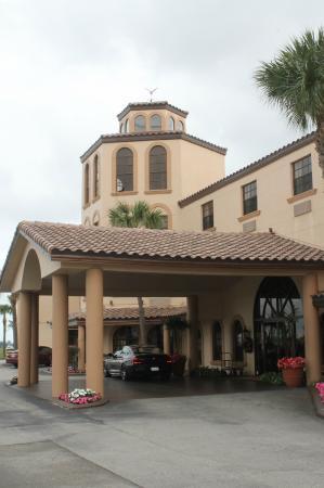 ซีบริง, ฟลอริด้า: Hotel entrance