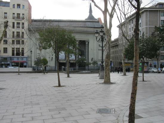 Plaza del Carmen: Vista