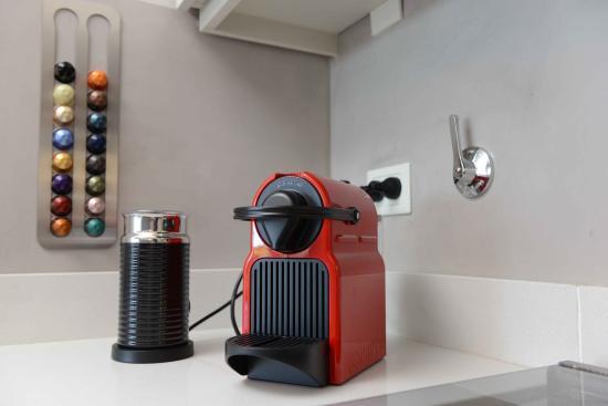 Costa del Este, Αργεντινή: Todos nuestros departamentos y habitaciones cuentan con cafetera Nespresso.