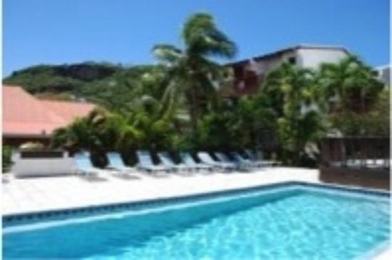 Tamarind Hotel: Pool View