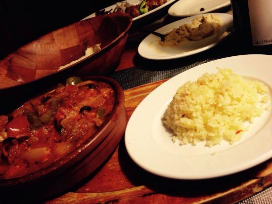 Istanbul Kebab House: Casserole vegetarienne