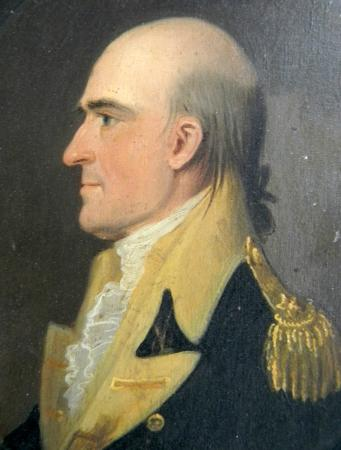 Rock Ford Plantation: General Edward Hand portrait from the Rock Ford collection