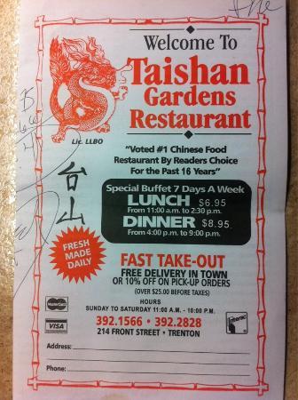 Taishan Gardens Restaurant