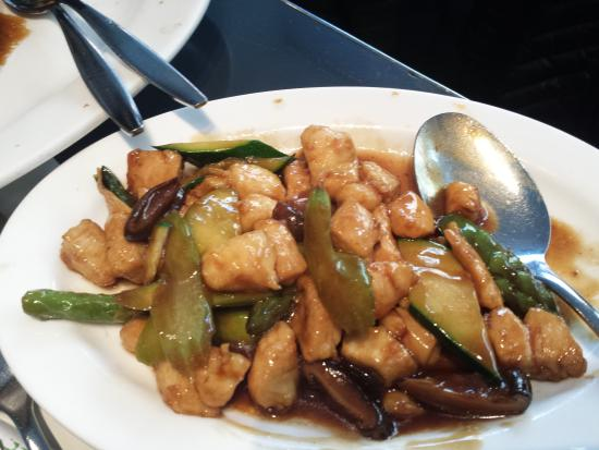 Mandarin 2: chicken with vegetables