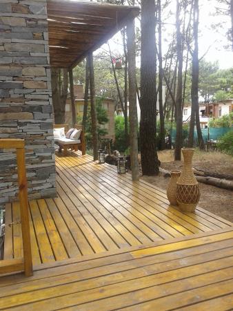 Terral Suites: deck