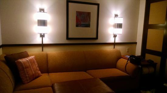 Hyatt Place Bethlehem: couch