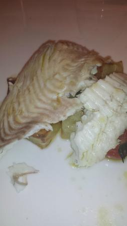 Osteria Caserma Guelfa: Rombo con verdure.