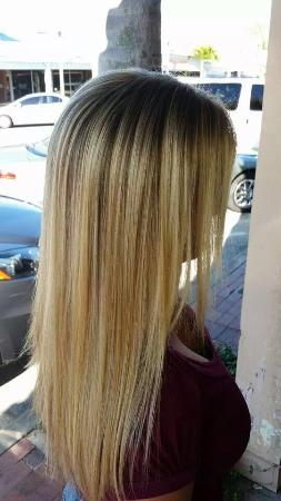 Full Head Of Highlights Picture Of London Hair And Spa St Pete