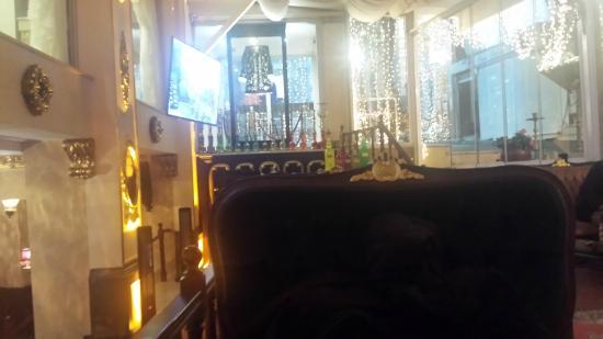 Harem Restaurant : sala fumatori