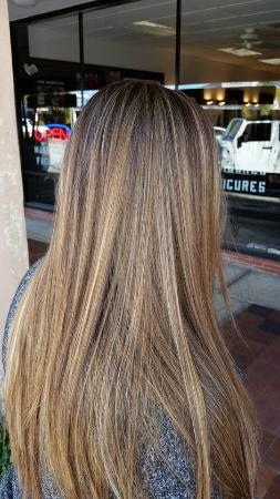 Highlights And Lowlights Foto De London Hair And Spa Saint Pete