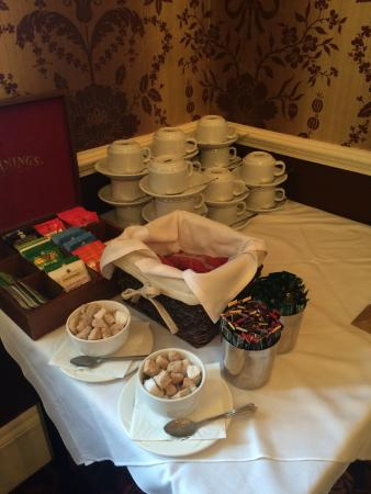 BEST WESTERN Moore Place Hotel: Refreshments for meeting room