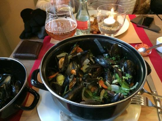 Erasmus : moules-frites