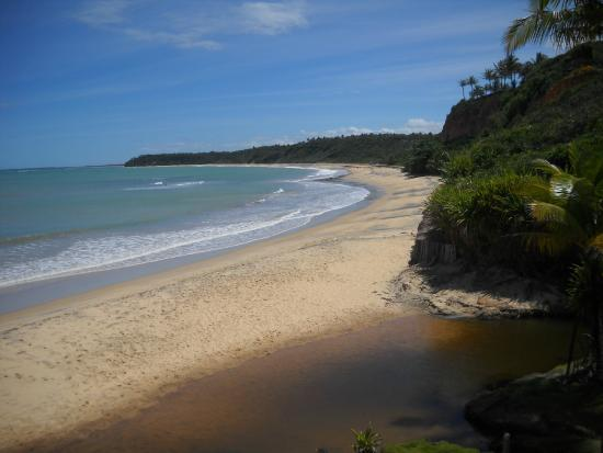 Satu Beach: Vista das falésias da Praia do Satú