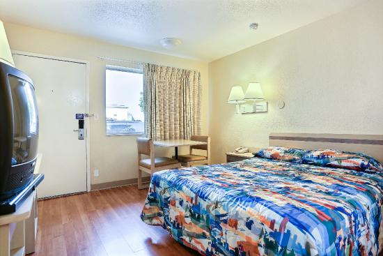 Motel 6 Twin Falls: Guest Room