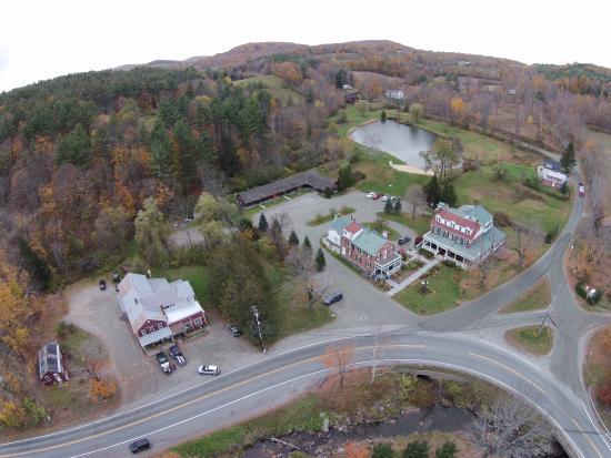 Kedron Valley Inn: The Inn from my Drone