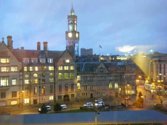 The Bradford Hotel: view from 516 overlooking city hall
