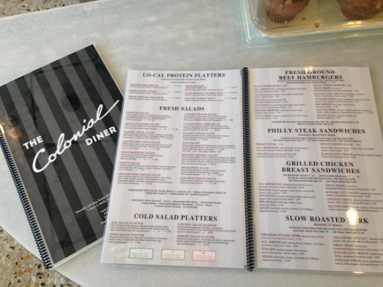 Colonial Diner Restaurant Woodbury