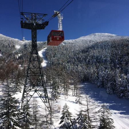 Pilatus Tateshina Ski Resort: 101人乗りのロープウェイ