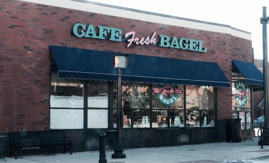 ‪Cafe & Fresh Bagel‬