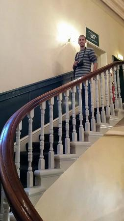 Brydone Hotel Oamaru: Original staircase.