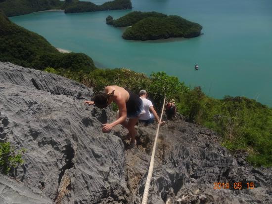 Pha Jun-Jaras 500m Platform - Picture of Ko Wua Talap Island, Ang Thong - Tri...