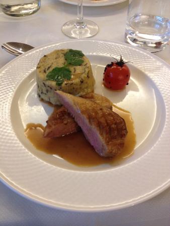 Pamplemousse: Canette et polenta