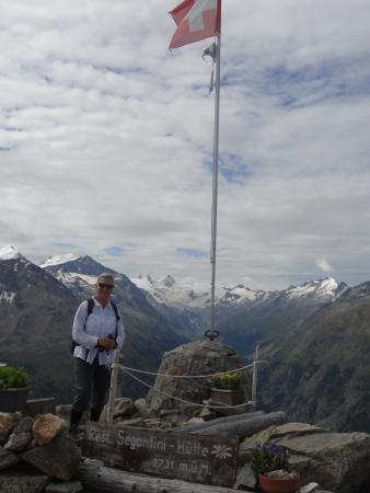 Hotel Bernina: spectacular birthday hike