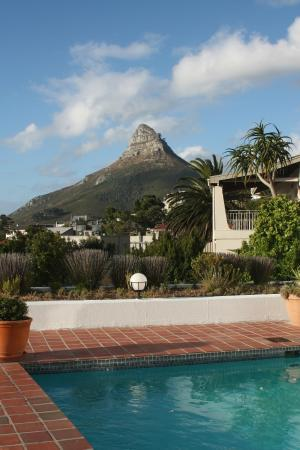 Diamond Guest House: View from the pool area