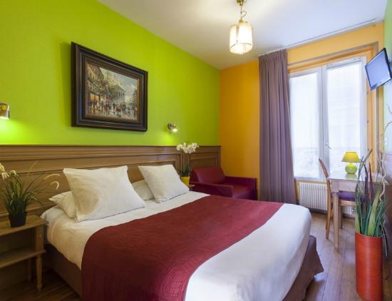 Hotel de la Felicite: Double family room (3 pers)