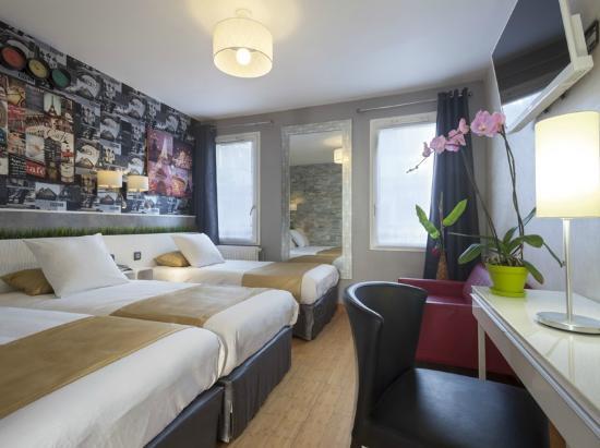 Hotel de la Felicite: Triple family room (4 pers)