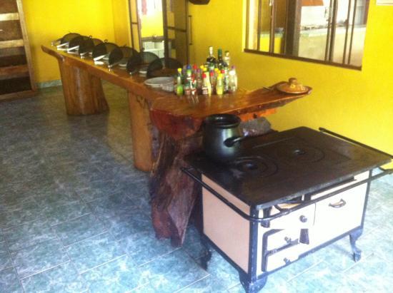Hotel Fazenda Luar de Agôsto: Restaurante
