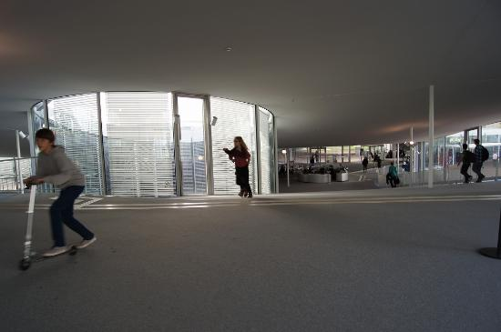 Rolex Learning Center EPFL : 内部