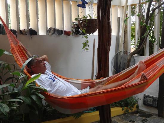 Rose Hostel: Óptimo para relaxar