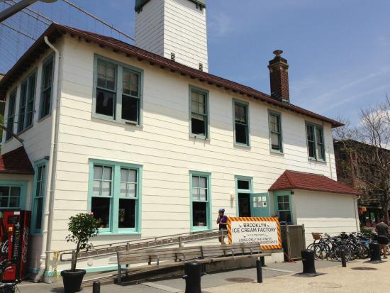Brooklyn Ice Cream Factory: little factory