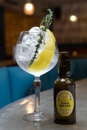 Element: The Botanist Gin Serve