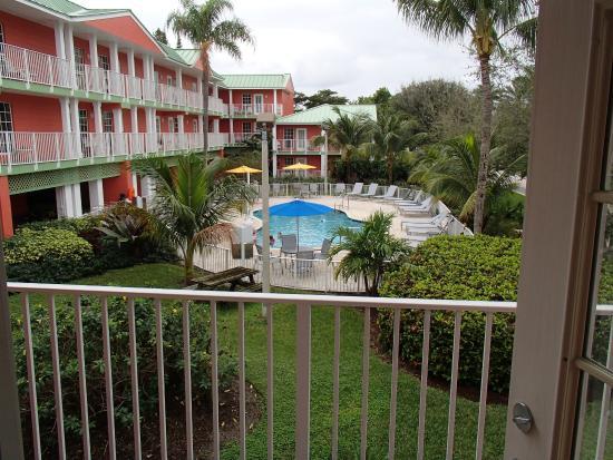 Wyndham Sea Gardens Key West Unit 261 View From Balcony