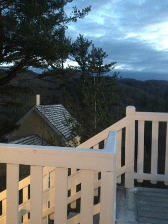 The Inn at Elk River: From the porch outside our room