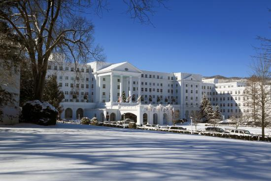 White Sulphur Springs, WV: Front Entrance of The Greenbrier