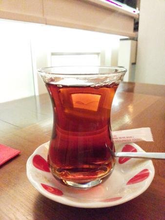Hotel Amira Istanbul: tea time at Amira Hotel