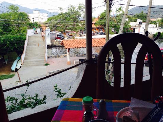 Restaurante de Mariscos Lety's : View from our table