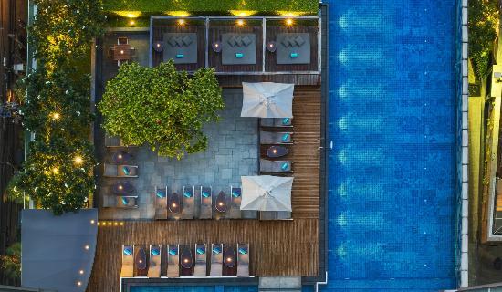 Le Meridien Bangkok: Pool view