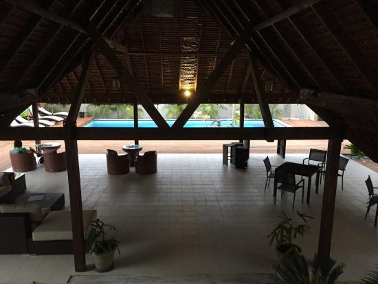 The Espiritu: Outside area near pool
