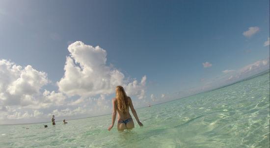 Berry Islands: Enjoying the water.