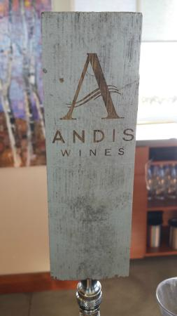 Andis Wines : Refill a Carafe of Andis -- On Tap