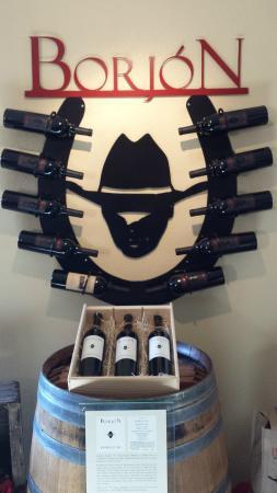 Borjon Winery: Logo and Horseshoes
