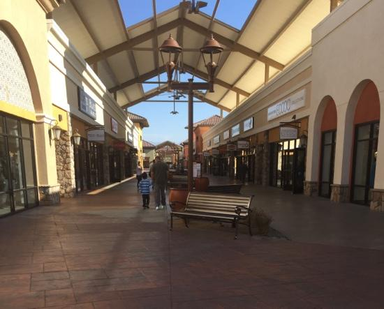 Attractive new Outlets at Tejon
